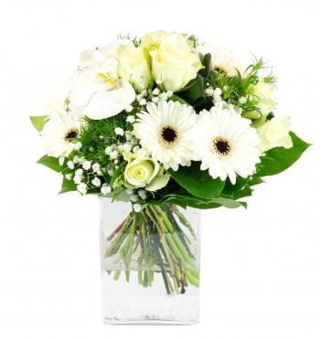 Bouquet rond douceur