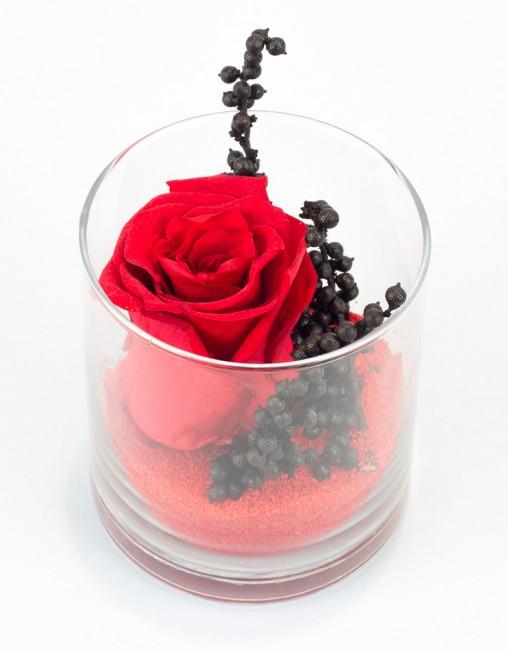 l 39 ternel rouge rose ternelle rouge dans verrerie. Black Bedroom Furniture Sets. Home Design Ideas