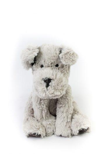 Petit chien en peluche