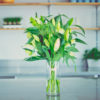Bouquet avec lys orientaux